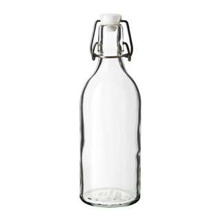 IKEA KORKEN, BOTTLE WITH STOPPER 0.5 l