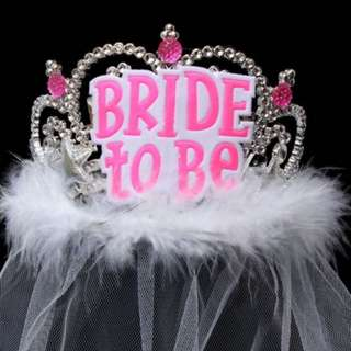 Bride to be Tiara Crown