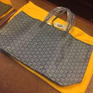 Goyard Saint Louis Tote Bag PM 灰色 購物袋