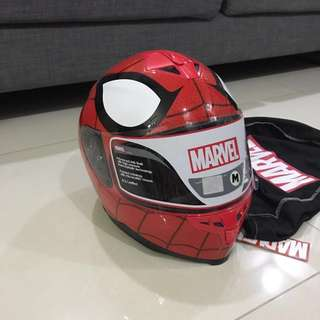 Marvel Spiderman motorcycle helmet