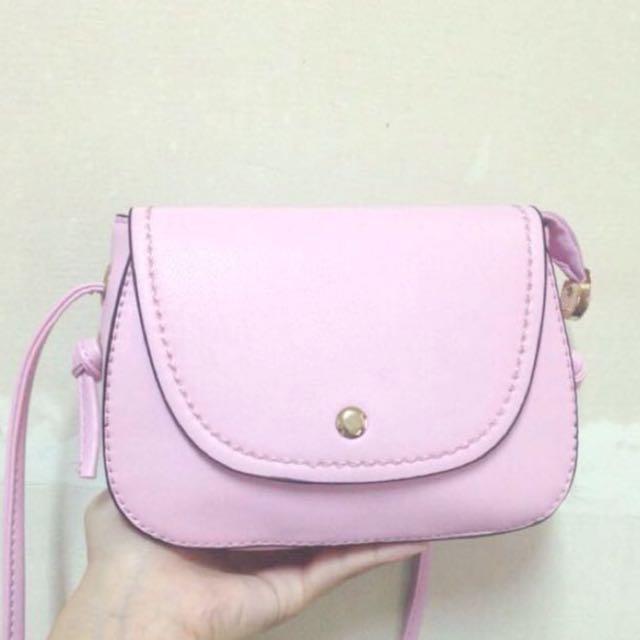 清甜粉色小包