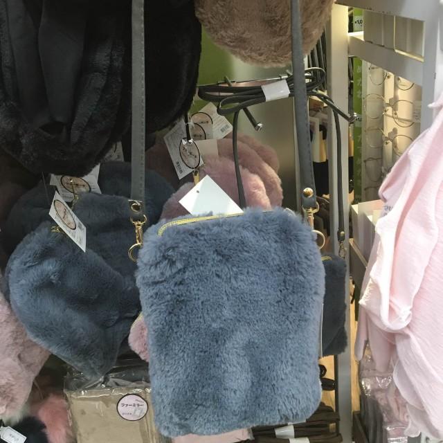 (免運)日系品牌毛毛單肩包