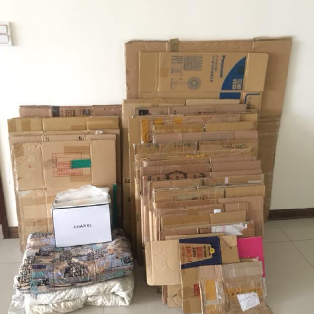 紙箱:搬家、整理、打包-封箱神器