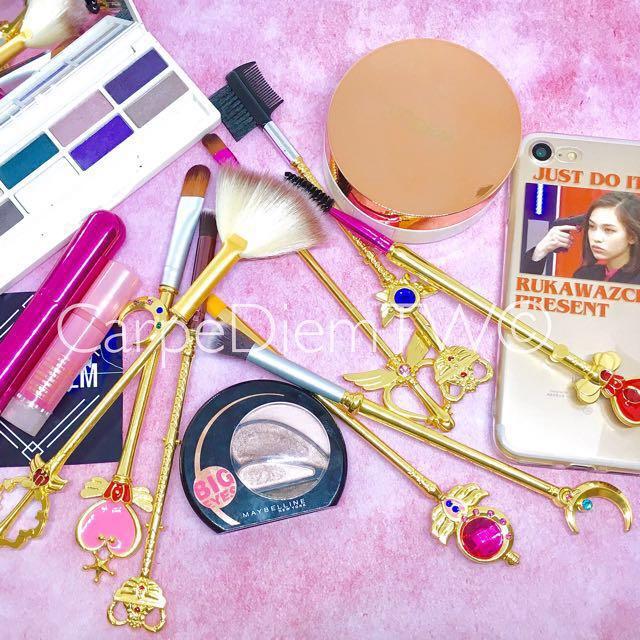 現貨 分享粉專$750 Sailor Moon 美少女戰士 神杖武器 刷具 一套八支