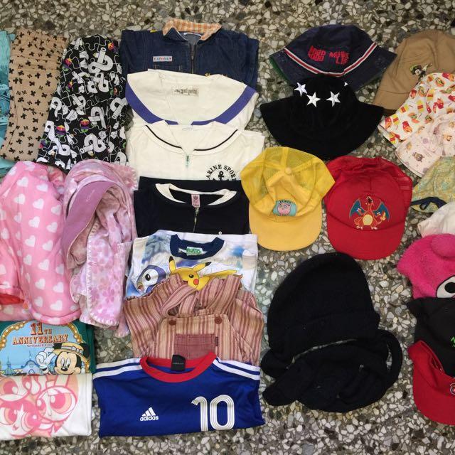日本帶回 男寶 女寶服裝 帽子