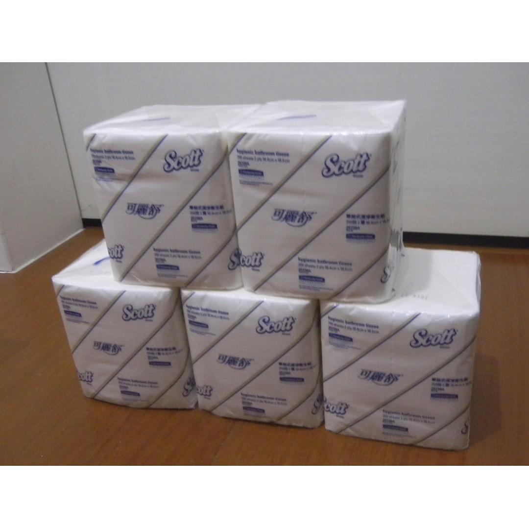 【全新】單抽式 雙層 衛生紙 短版 抽取式 (有20包)