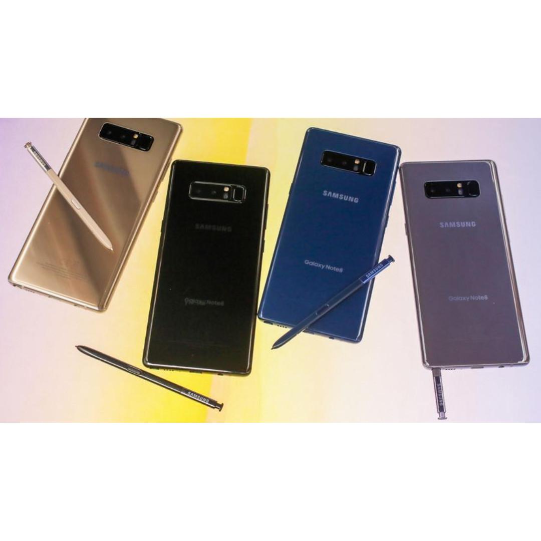台中分期 三星 samsung note8 學生分期 軍人 手機分期 全新未拆 公司貨