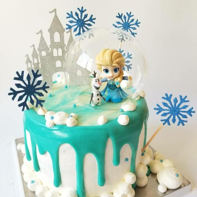 流心綠茶慕絲蛋糕 Elsa Green Tea Mousse Cake 生日蛋糕 Food Amp Drinks