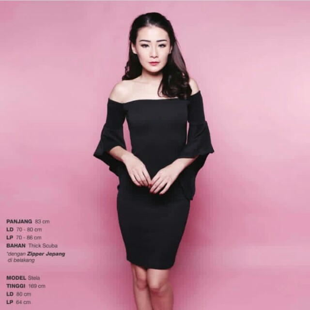 Amabilis Shoulder Dress