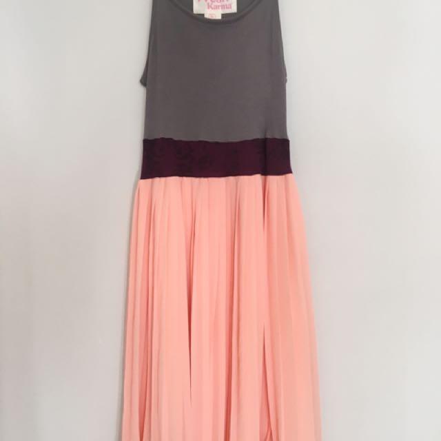 Aritzia Colour Block Dress