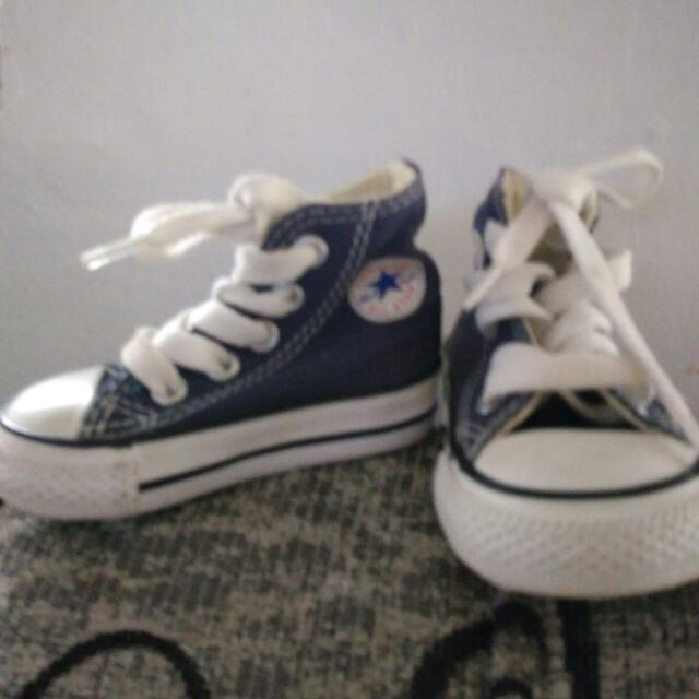 bc1effcab Authentic Converse Baby Shoes, Babies & Kids, Babies Apparel on ...