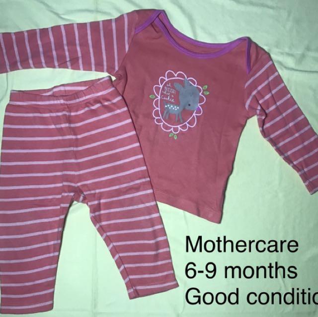 Baju tidur piyama baby Mothercare (preloved)