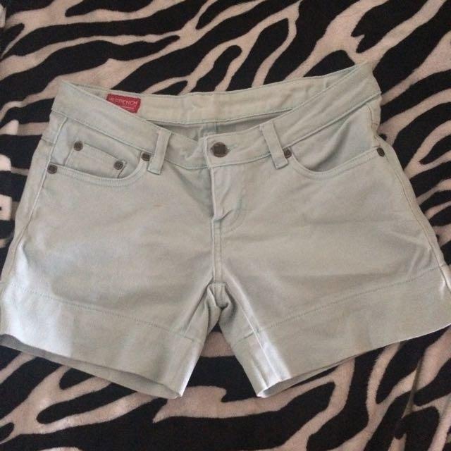 Bench light blue shorts