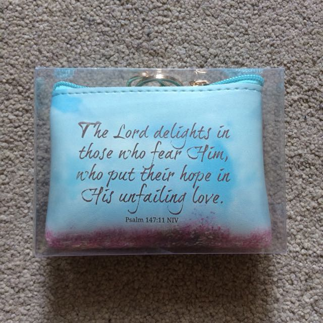 Bible Verse Coin Purse