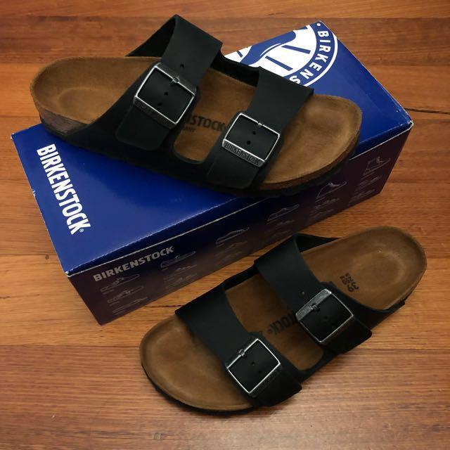 Birkenstock Arizona Narrow Black Sandals