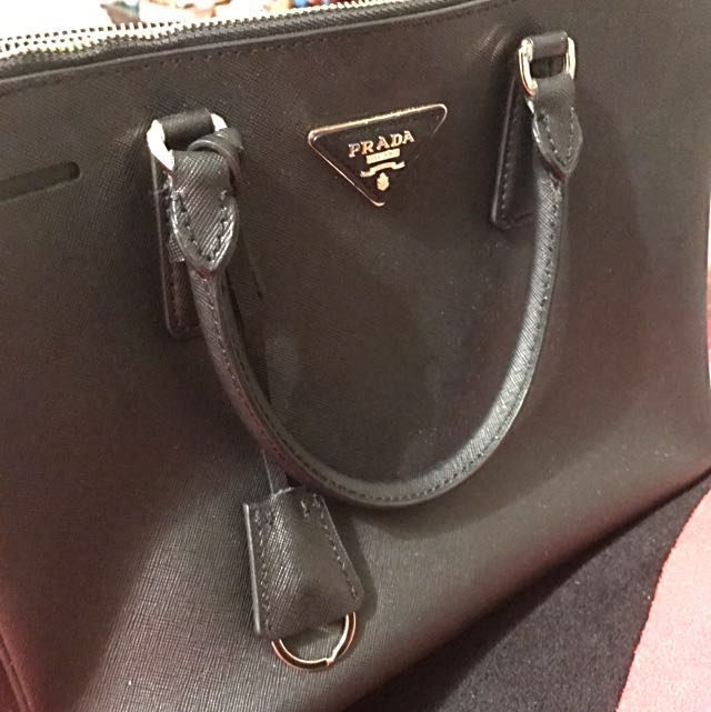 Black Saffiano Bag / price dropped