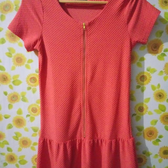 Black Sheep Orange Dress