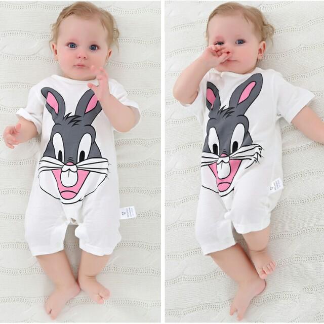 ba9a71c8f BN 3-6mths Bugs Bunny Romper