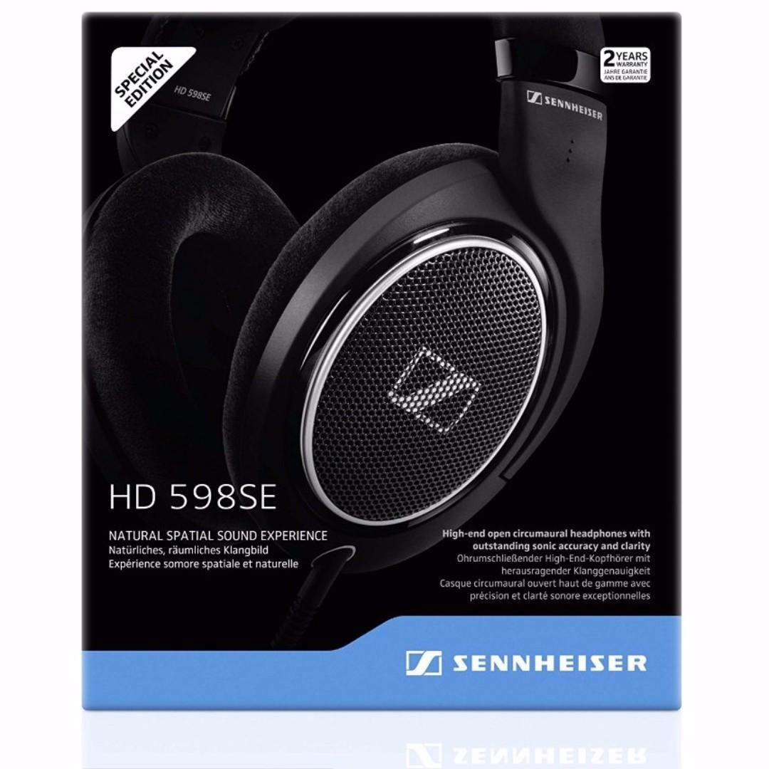 Bnib Authentic Sennheiser Hd 598 Cs Closed Back Headphone