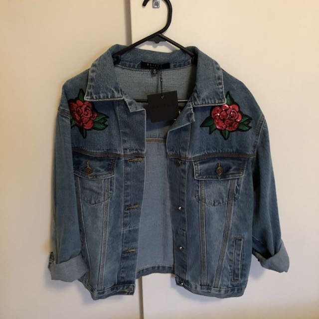 BNWT Reiley Denim Jacket