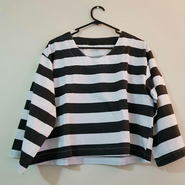 Boxy Stripped Top