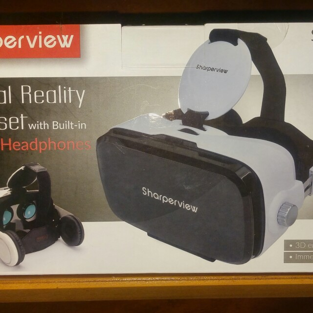 BRAND NEW IN BOX SMARTPHONE Virtual Reality Headset