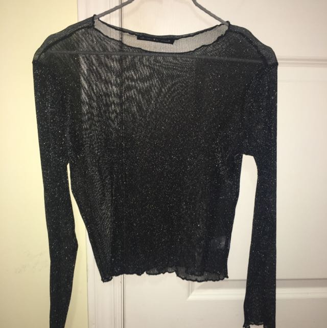 Brandy Melville Sheer Long Sleeve