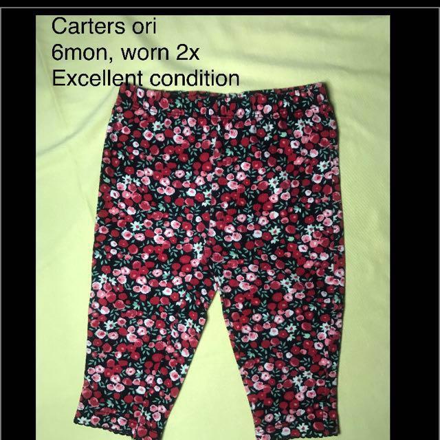 Carters ori legging baby (preloved)