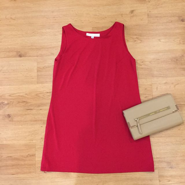 Chilli Red Shift Dress