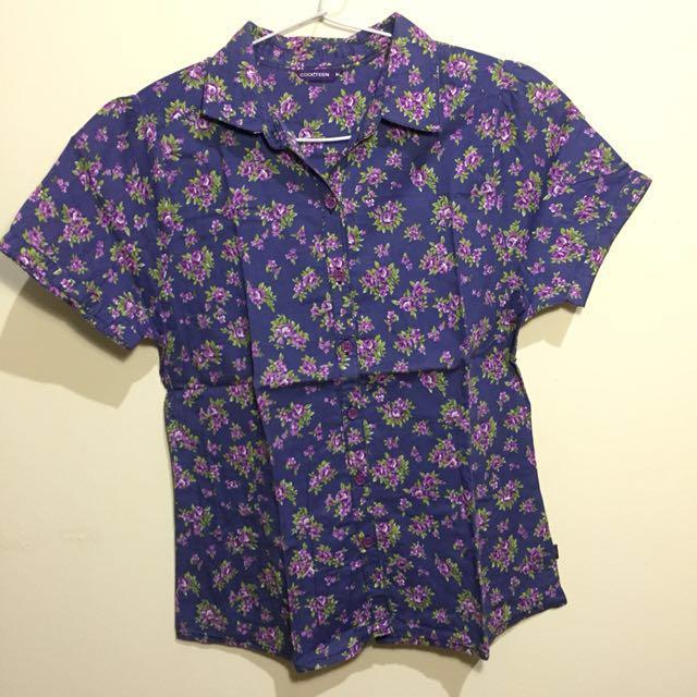 Coolteen Floral Shirt (kemeja)