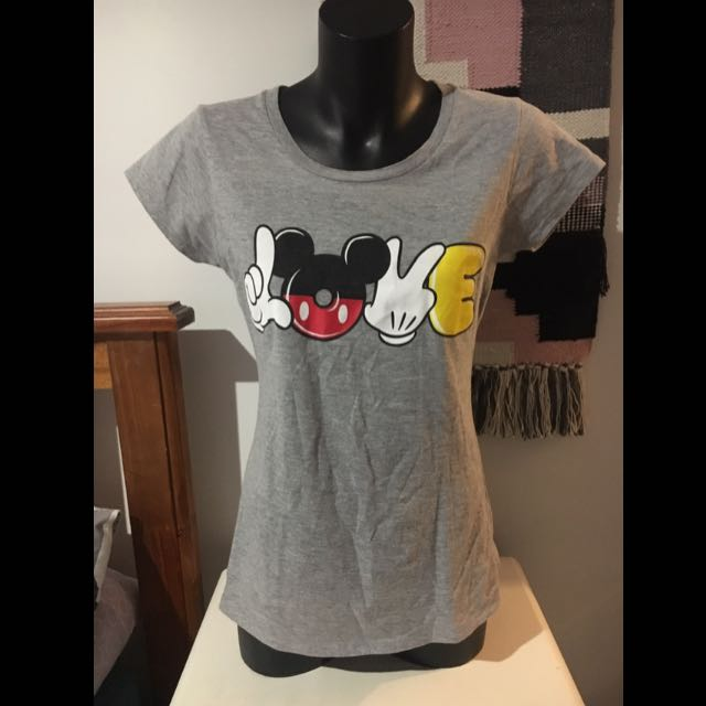 Disney Micky Mouse 'Love' Tee