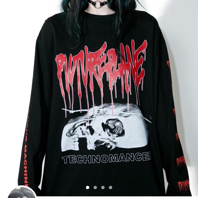 DOLLSKILL TECHNOMANCER LONG SLEEVE TOP (sold out)