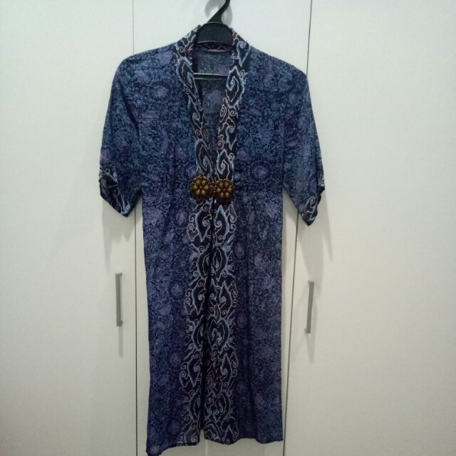 Dress batik megamendung