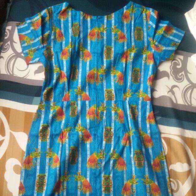 Dress Batik Papua