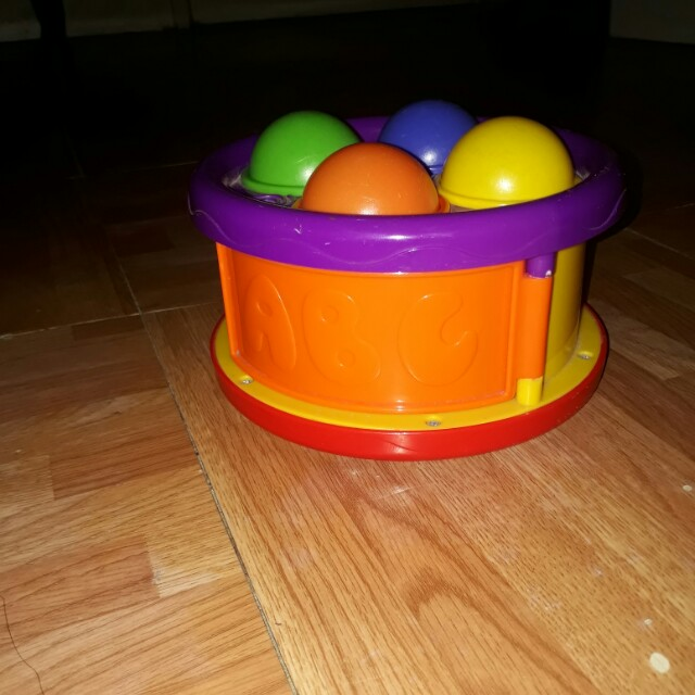Drum and ball set