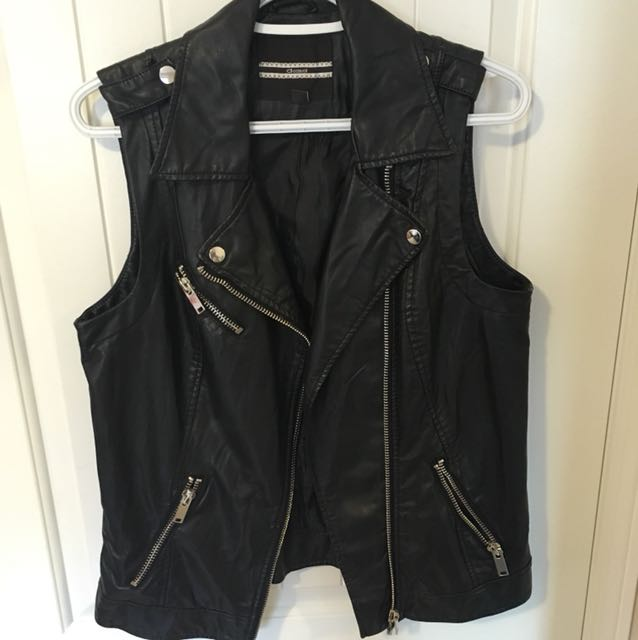 Dynamite Leather Vest (M)