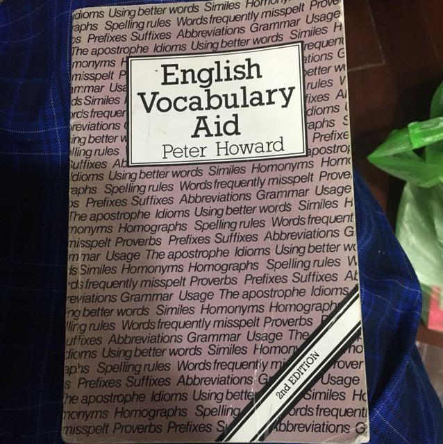 English Vocabulary Aid