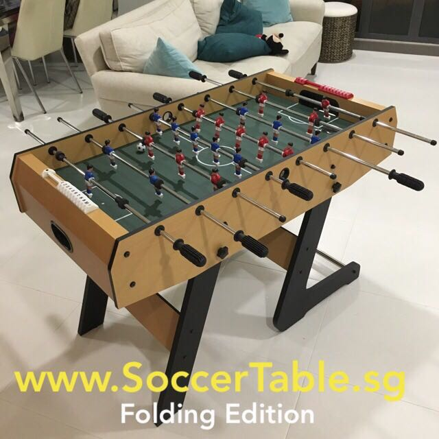 Foldable Foosball Soccer Table For Home U0026 Office, Furniture, Others On  Carousell