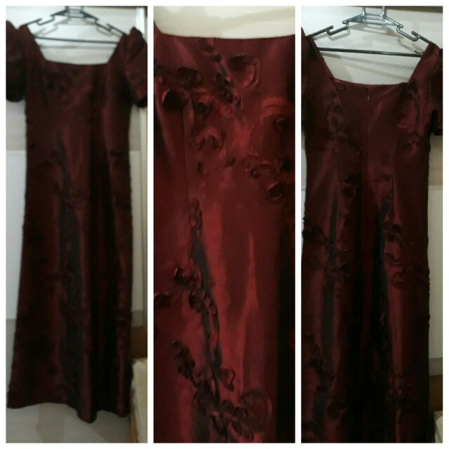 Formal Gown Maroon