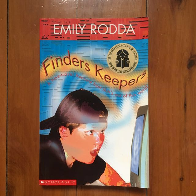 """Free with any purchase over $10 / """"Finders Keepers"""" by Emily Rodda"""