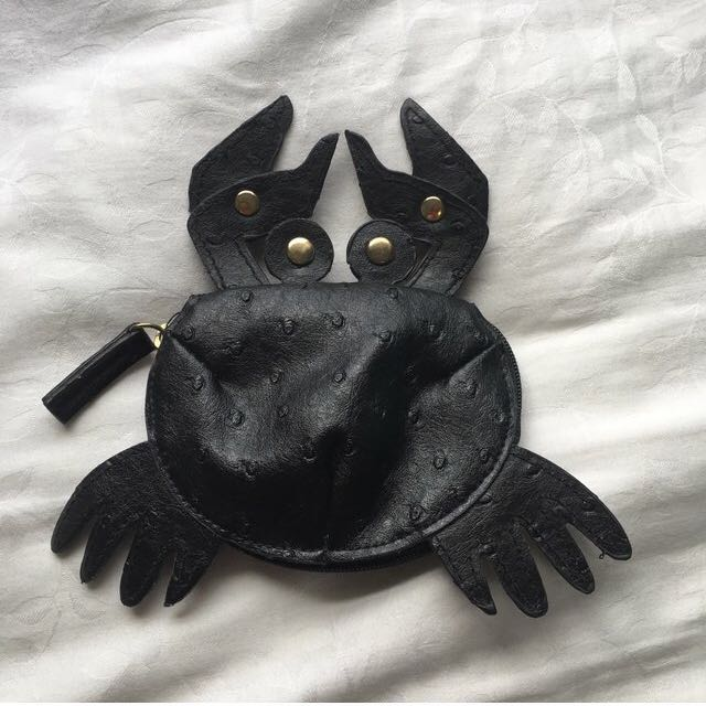 Free with any purchase over $10 / Sportsgirl crab coin purse