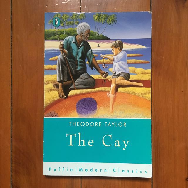 """Free with any purchase over $10 / """"The Cay"""" by Theodore Taylor"""
