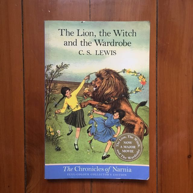 """Free with any purchase over $10 / """"The Lion, the Witch & the Wardrobe"""" by C. S. Lewis"""