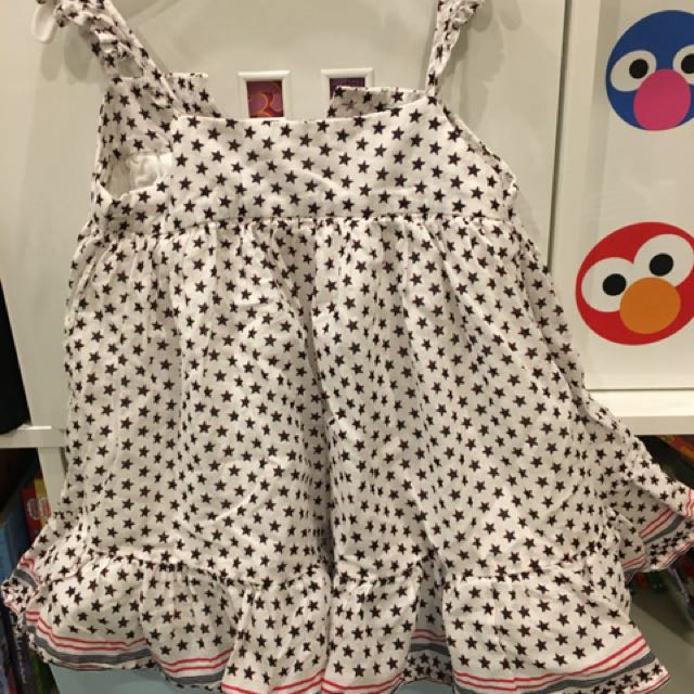 Gap beach dress 12-18 months