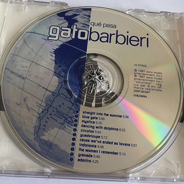 GATO BARBIERI: Que Pasa *BRAND NEW, Music & Media on Carousell