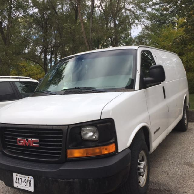 Gmc savana 2006 Hi way driving