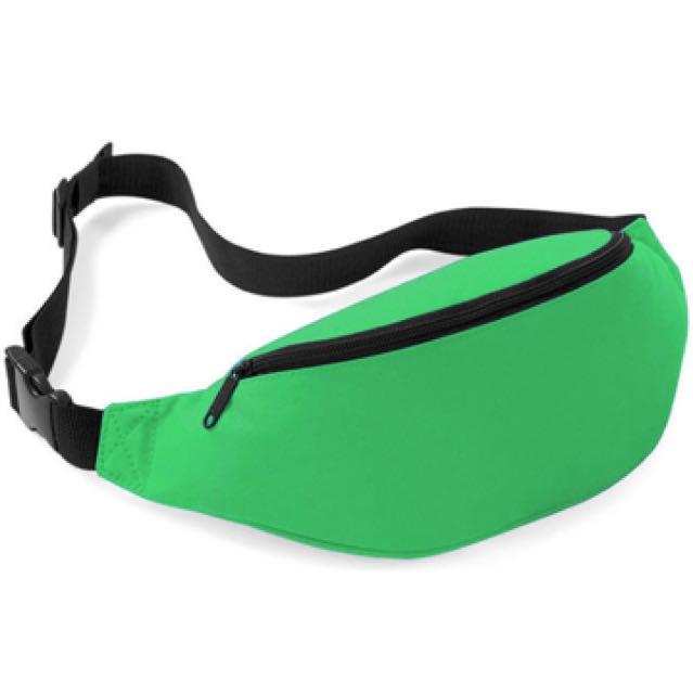 Green bumbag