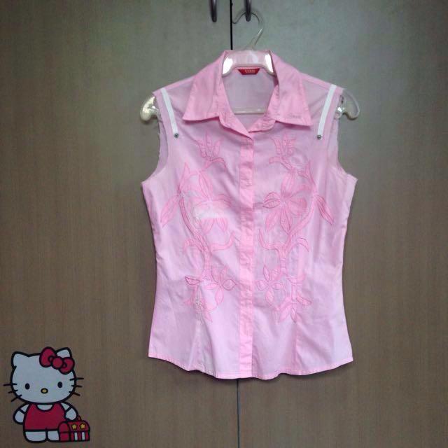 Guess Pink Sleeveless