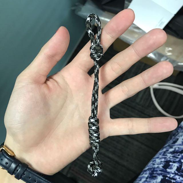 Handmade Paracord keychain