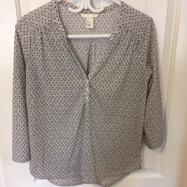 H&M 3/4 Sleeved Shirt (S)
